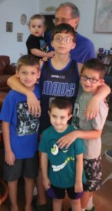 grandsons and charlie aug 2 2014