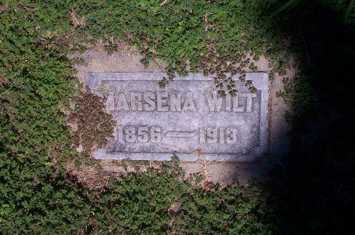 Marsena Gibson Wilt headstone