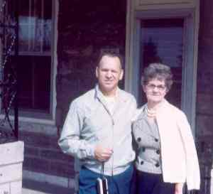 Gene & Aunt Marie in Philadelphia